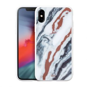 Чехол для iPhone XS/X (5.8'') LAUT MINERAL GLASS White (LAUT_IP18-S_MG_MW)