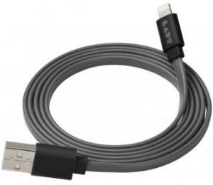 Кабель LAUT Link Lightning - USB (1.2 m) Black (LAUT_LK_LTN1.2BK)