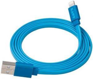 Кабель LAUT Link Lightning - USB (1.2 m) Blue (LAUT_LK_LTN1.2BL)
