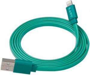 Кабель Lightning (1.2 м, MFi) LAUT Link Turquoise (LAUT_LK_LTN1.2TU)