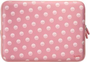 "Чехол для MacBook Pro 13'' (2009-2012) / Pro 13"" Retina (2012-2015) / Air 13'' (2010-2017) LAUT POP PROTECTIVE SLEEVE Polka Pink (LAUT_MB13_POP_PK)"