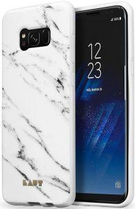 Чехол для Samsung Galaxy S8 (G950) LAUT Huex Elements Marble White (LAUT_S8_HXE_MW)