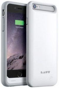 Чехол-аккумулятор для iPhone 6/6S (4.7'') LAUT N-DURO Battery Case 3100 mAh White (+ 2 пленки на экран) (LAUT_iP6_NDR_W)