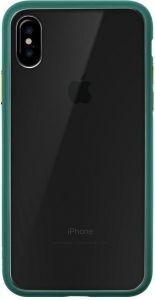 Чехол для iPhone X LAUT ACCENTS Emerald Green (LAUT_iP8_AC_GN)