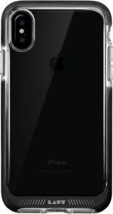 Чехол для iPhone X LAUT FLURO [IMPKT] Black (LAUT_iP8_FR_BK)