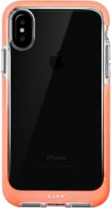 Чехол для iPhone X LAUT FLURO [IMPKT] Pink (LAUT_iP8_FR_P)