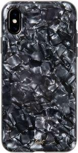 Чехол для iPhone XS/X (5.8'') LAUT PEARL Black (LAUT_iP8_POP_PLBK (T))