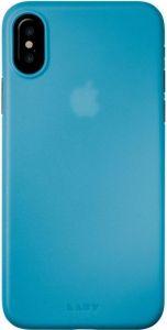 Чехол для iPhone X LAUT SLIMSKIN Blue (LAUT_iP8_SS_BL)