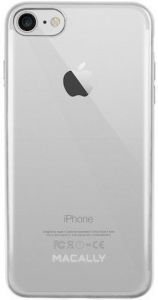 Чехол для iPhone 8 / 7 (4.7'') Macally LUXR Silver (LUXRP7M-S)