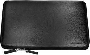 Кожаный чехол-книжка для MacBook Pro Retina 13''/Air 13'' / Pro 13'' Issa Hara Black (MC13-01(11-00))
