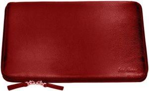 Кожаный чехол-книжка для MacBook Pro Retina 13''/Air 13'' / Pro 13'' Issa Hara Red (MC13-01(15-00))