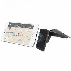 Автодержатель (до 7'') Macally Car CD Slot Mount With Magnetic Holder Black (MCDMAG)