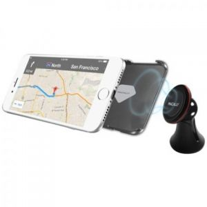 Автодержатель (до 7'') Macally Car Dashboard Mount With Magnetic Holder For iPhone/Smartphone Black (MDASHMAG2)