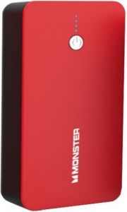 Внешний аккумулятор Monster Mobile Portable Power Portable Battery 10000mAh- 2-USB - Red (MNO-133383-00)