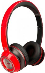 Гарнитура Monster NCredible NTune Solid On-Ear Solid Red (MNS-128527-00)