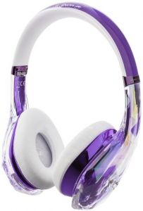 Гарнитура Monster DiamondZ On-Ear, Universal CT - Purple and White (MNS-137016-00)
