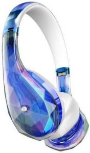 Гарнитура Monster DiamondZ On-Ear, Universal CT - Clear Blue (MNS-137028-00)