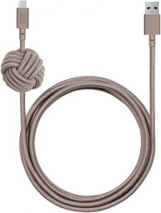 Кабель Native Union Night Cable Lightning - Taupe (NCABLE-L-TAU)