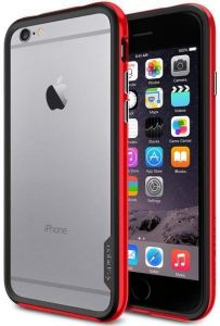 Бампер для iPhone 6 (4.7'') Spigen (SGP) Case Neo Hybrid EX Series Dante Red (SGP11025)