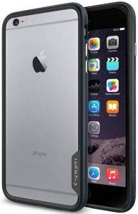 Бампер для iPhone 6 Plus / 6S Plus (5.5'') Spigen (SGP) Case Neo Hybrid EX Series Metal Slate (SGP11056)