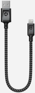 Кабель Nomad Lightning Cable Black (0.3 m) (NM015B1000)