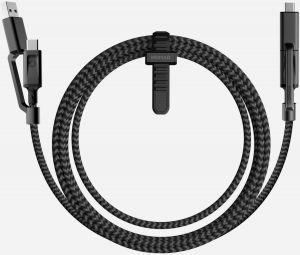 Кабель Nomad Universal Cable 4 in 1 USB-C Black (1.5M) (NM0B9BC000)