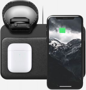 Беспроводное зарядное устройство 3 в 1 Nomad Base Station Apple Watch Edition Black (NM30011A00)
