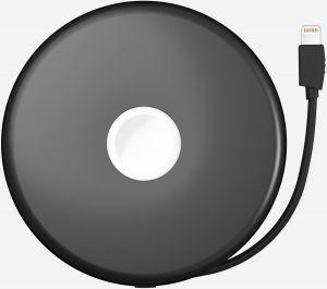 Внешний аккумулятор с док-станцией для Apple Watch 3/2 Nomad Pod Pro 6000 mAh Space Gray (POD-PRO-APPLE-SG)