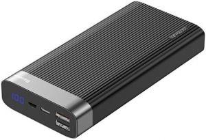 Внешний аккумулятор Baseus Parallel Quick Charge 3.0 Type-C 20000mAh 18W Black (PPALL-APX01)