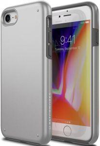 Чехол для iPhone 8 / 7 Patchworks Chroma, серебристый (PPCRA74)