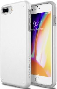 Чехол для iPhone 8 Plus / 7 Plus Patchworks Chroma, белый (PPCRA77)