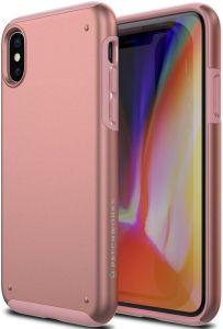 Чехол для iPhone X Patchworks Chroma, розовое золото (PPCRA83)