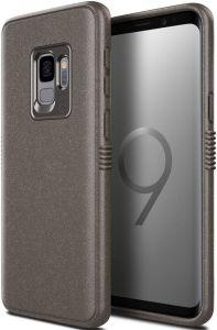 Чехол для Samsung Galaxy S9 (G960) Patchworks Mono Grip, серо-коричневый (PPMGS93)