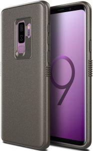Чехол для Samsung Galaxy S9 Plus (G965) Patchworks Mono Grip, серо-коричневый (PPMGS96)