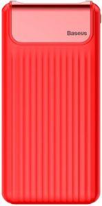 Внешний аккумулятор Baseus Thin Quick Charge 3.0 10000mAh Red (PPYZ-C09)