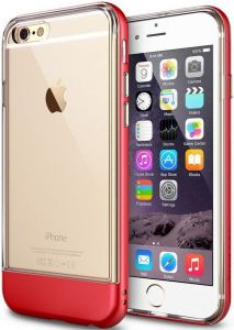 Чехол для iPhone 6/6S (4.7'') Ringke Fusion Frame Fire Red (RFAP022)