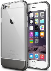 Чехол для iPhone 6/6S (4.7'') Ringke Fusion Frame Metal Gray (RFAP023)