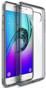 Чехол для Samsung A710 Galaxy A7 (2016) Ringke Fusion Smoke Black (RFSG037)