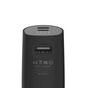 Автомобильное зарядное устройство со встроенным дополнительным аккумулятором Nomad Roadtrip Car Battery Black (ROADTRIP)