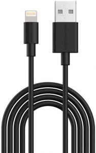 Кабель RAVPower MFI 1m Lightning Cable - Black (RP-CB030)