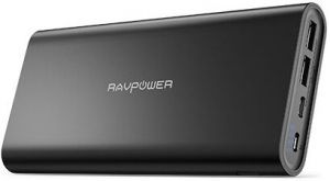 Внешний аккумулятор RAVPower Ace 26800mAh 2017Q4 Upgraded Dual Input Portable Charger Black (RP-PB067)