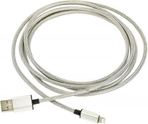 Кабель FuseChicken USB Cable to Lightning Armour Charge 2m Silver (SBC-200)