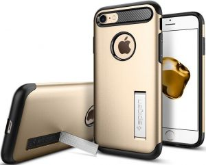 Чехол для iPhone 8 / 7 (4.7'') Spigen Case Slim Armor Champagne Gold (SGP-042CS20302)
