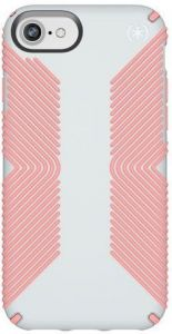 Чехол для iPhone 8/7/6S/6 (4.7'') Speck PRESIDIO GRIP DOVE GREY/TART PINK (SP-103108-6584)