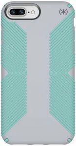 Чехол для iPhone 8 Plus / 7 Plus / 6S Plus / 6 Plus (5.5'') Speck PRESIDIO GRIP DOLPHIN GREY/ALOE GREEN (SP-103122-6249)