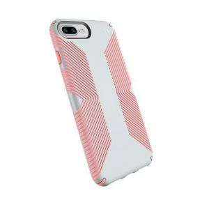 Чехол для iPhone 8 Plus / 7 Plus / 6S Plus / 6 Plus (5.5'') Speck PRESIDIO GRIP DOVE GREY/TART PINK (SP-103122-6584)