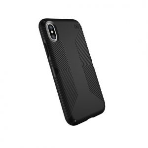 Чехол для iPhone X/XS Speck PRESIDIO GRIP - BLACK/BLACK (SP-103131-1050)