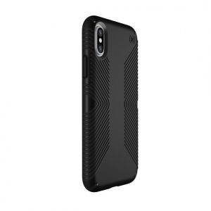 Чехол для iPhone X/XS Speck PRESIDIO GRIP - BLACK/BLACK (SP-103131-1050)