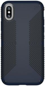 Чехол для iPhone X Speck PRESIDIO GRIP ECLIPSE BLUE/CARBON BLACK (SP-103131-6587)