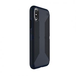 Чехол для iPhone X/XS Speck PRESIDIO GRIP ECLIPSE BLUE/CARBON BLACK (SP-103131-6587)